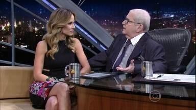 """Ana Furtado fala sobre carreira e sobre o 'É de Casa"""", novo programa da TV Globo - Apresentadora ainda comenta que o marido, Boninho, é quem comanda a cozinha em sua casa"""
