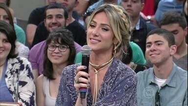 Giovanna Ewbank revela bastidores de cena com Bruno Gagliasso - Atriz conta que se divertiu com a participação em Babilônia