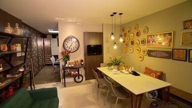 Mostra de decoração 'Morar Mais' é aberta em Belo Horizonte - A ideia dos organizadores é montar ambientes criativos, despojados e que tenham um custo acessível.
