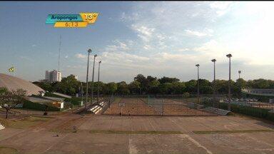 Vila Olímpica pode ser cercada, em Maringá - A prefeitura pode adotar a medida por causa do tráfico de drogas e da bagunça durante a noite no estacionamento do estádio.