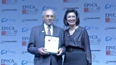 Copagaz é eleita uma das melhores empresas para se trabalhar no país - Prêmio é realizado em vários países. Empresário Ueze Zahran recebeu o prêmio em São Paulo