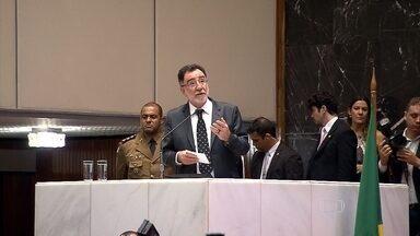 Ministro Patrus Ananias laça Plano Safra da Agricultura Familiar para produtores de Minas - O anúncio do crédito de R$ 4,4 bilhões foi feito em reunião especial na Assembleia Legislativa do estado.