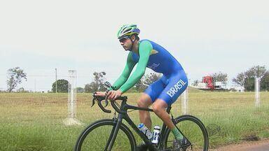 Ciclista Araraquarense chega do Parapan no Canadá com duas medalhas de ouro e uma de prata - Ciclista Araraquarense chega do Parapan no Canadá com duas medalhas de ouro e uma de prata