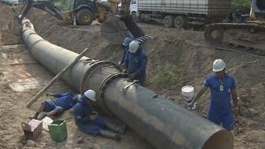 Caerd inicia obra definitiva em tubulações de Porto Velho - Vazamentos foram registrados e serviços de consertos era provisórios e prejudicava abastecimento de água em bairros do município.