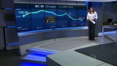 Economia brasileira tem dois trimestres seguidos de queda do IBC-Br - De acordo com o IBC-Br, que é o indicador do Banco Central que serve de prévia para o resultado do PIB, o Brasil encolheu quase 2% no segundo trimestre na comparação com os três meses anteriores.
