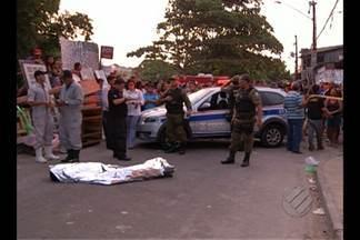Três pessoas são assassinadas em Belém - Três pessoas são assassinadas em Belém