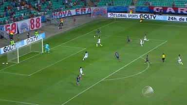 Bahia vence o Sport sna esrteia da Copa Sul-Americana - Partida aconteceu na Arena Fonte Nova.