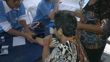 Moradores recebem ação social em Campina Grande - Iniciativa aconteceu no bairro do José Pinheiro