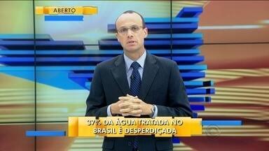 Renato Igor comenta sobre o desperdício de água - Renato Igor comenta sobre o desperdício de água