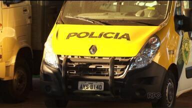 Em Guarapuava, falta dinheiro pra consertar as viaturas da polícia - Quase metade das viaturas estão paradas na cidade.
