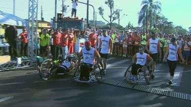 Quatro mil pessoas participaram da corrida dos Bombeiros neste domingo (24) em Ribeirão - Foram seis quilômetros ao redor do Jardim Independência.
