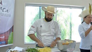 Chefs consagrados dão dicas sobre a culinária pantaneira durante festival - Centenas de pessoas tiveram a oportunidade de conhecer um pouco mais sobre a culinária regional durante festival em Corumbá (MS)