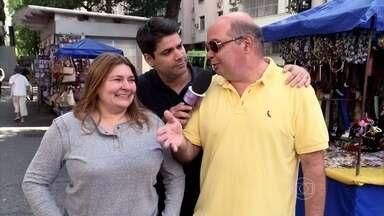 Lair Rennó vai às ruas saber como convivem pessoas com manias opostas - Casais respondem como é a convivência entre organizados e bagunceiros