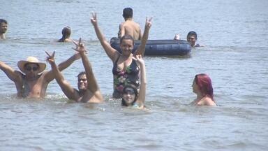 Festival de praia movimenta comunidade na zona rural da capital - Comunidade Vale do Jacu realizou o festival para ajudar famílias atingidas pela cheia.