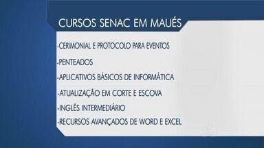 Senac oferece 220 vagas gratuitas para cursos na Balsa Escola - Inscrições começam nesta segunda-feira.
