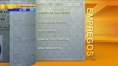 Empregos: empresa de call center tem vaga para estudantes de direito - Assista ao vídeo.