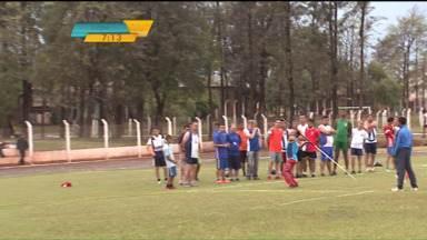 Semana Nacional da Pessoa com Deficiência tem programação especial no norte do estado - Olimpíada das APAES é realizada em Arapongas. Esta é a vigésima edição da competição.