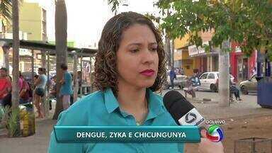 Estado apresenta balanço dos casos de dengue, zyka vírus e febre chicungunya em MT - Estado apresenta balanço dos casos de dengue, zyka vírus e febre chicungunya em MT
