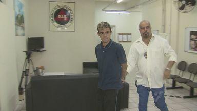 Suspeito de matar um bombeiro, em Itanhaém, foi preso - Crime aconteceu no fim de semana.