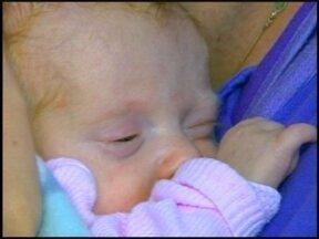 Bebê nasce com 730 gramas em Erechim - Luiza está internada a três meses no Hospital Santa Terezinha.