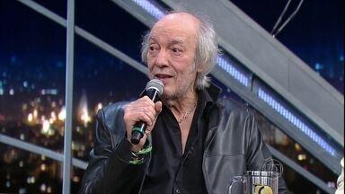 """Erasmo Carlos encerra programa de terça-feira cantando """"A Carta"""" - Música faz parte do DVD """"Meus Lados B"""""""
