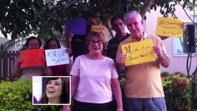 Giba e Miá recebem depoimentos dos familiares - Veja também o que o povo está achando nas ruas da dupla 'empanelada'