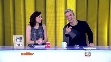 Otaviano Costa imita porquinho ao vivo - Monica Iozzi cai na gargalhada