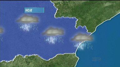 Chuva de granizo provoca estragos em cidades do Paraná - A região noroeste do estado, foi a mais atingida, pelos ventos e granizo. A chuva deve continuar intensa na capital.
