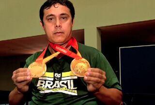 Conheça a história do cearense campeão paralímpico David Freitas - Confira com o repórter Eduardo Trovão