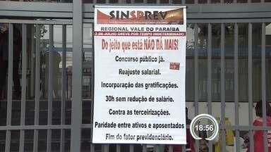 Paralisação do INSS dura dois meses em São José - Esta terça-feira foi marcada por protestos.