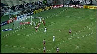 Ceará vence mais uma e está mais perto de deixar a zona de rebaixamento - Equipe venceu a segunda partida seguida.
