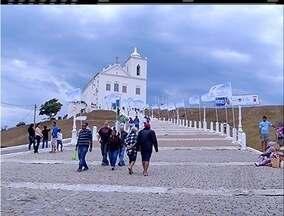 Procissão marca comemoração ao dia da padroeira de Saquarema, no RJ - Nossa Senhora de Nazareth é padroeira de diversos municípios no Brasil.