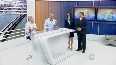 Roberto e Miguel comentam os destaques do futebol catarinense desta quarta-feira (9) - Roberto e Miguel comentam os destaques do futebol catarinense desta quarta-feira (9)