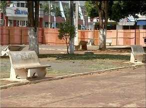 Praça São Luiz Orione em Araguaína recebe reforma - Praça São Luiz Orione em Araguaína recebe reforma