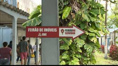 Prefeitura de João Pessoa promove feirão de imóveis - O feirão ,que está sendo realizado em Água Fria, é aberto a todos os interessados e oferece benefícios especiais aos servidores da prefeitura de João Pessoa.