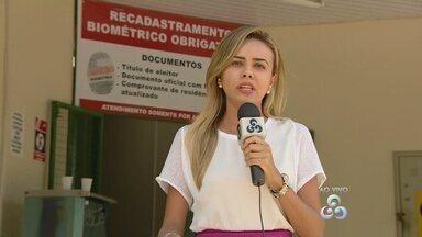 Novo posto biométrico é inaugurado em Manaus - Ação quer reforçar cadastro de eleitores