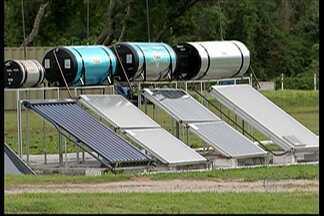 Com a alta da conta de luz, uso de energia solar é cogitado - A economia é grande, mas o investimento também.