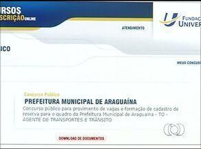 Prefeitura de Araguaína diz que vai ampliar prazo para entrega de documentos em concurso - Prefeitura de Araguaína diz que vai ampliar prazo para entrega de documentos em concurso
