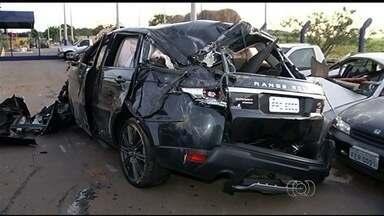 Está pronto inquérito do acidente que matou Cristiano Araújo e namorada em Goiás - O resultado das investigações deve ser divulgado nesta quinta-feira (10).