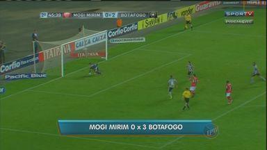 Botafogo vence o Mogi Mirim por 3 a 0 - Jogo aconteceu nesta sexta-feira (11) no estádio Kleber Andrade, em Cariacica, Espírito Santo.