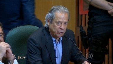 Justiça Federal aceita denúncia contra José Dirceu e mais 14 pessoas - Acusados viram réus da Operação Lava Jato, que investiga esquema de corrupção na Petrobras.