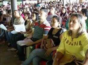 Professores em indicativo de greve se reúnem para avaliar proposta da Prefeitura de Palmas - Professores em indicativo de greve se reúnem para avaliar proposta da Prefeitura de Palmas