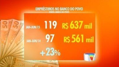 Banco do Povo de Jacareí aumenta empréstimos em 2015 - Coordenação municipal do banco acredita que cidade vive momento econômico diferente do país.