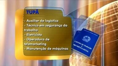 Confira as oportunidades de trabalho oferecidas pelo Posto de Atendimento ao Trabalhador - O Posto de Atendimento ao Trabalhador de Tupã está com vagas abertas para quem procura emprego.