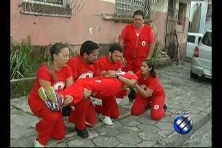 Cruz Vermelha já definiu os postos de atendimento para o Círio 2015 - Representante da Cruz Vermelha explica como será o esquema.