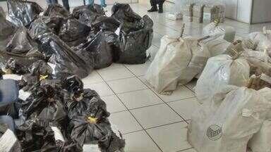 PF de Araraquara incinera mais de 1,5 tonelada de drogas - Foram 1.245 toneladas de maconha e mais de 353 kg de cocaína. Todo o material foi apreendido pela polícia.