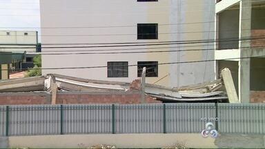 Saiba mais sobre o desabamento ocorrido em uma obra no Hospital Adventista - Criança de 8 anos ficou ferida em acidente.