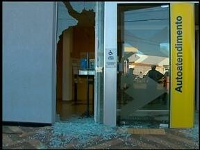 Homens assaltam duas agências bancárias ao mesmo tempo - Crime foi em Maximiliano de Almeida, RS, na tarde desta quarta-feira, 9.