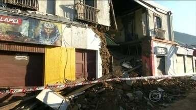 Forte terremoto deixa 11 mortos no Chile - Após o terremoto de 8,4 de magnitude, cerca de um milhão de pessoas tiveram que sair de casa. Os abalos foram sentidos no Brasil em, pelo menos, quatro estados.