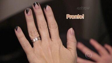 Vídeo Show mostra as unhas da Atena de A Regra do Jogo - O Gshow preparou um vídeo explicando como fazer as unhas da personagem de Giovanna Antonelli